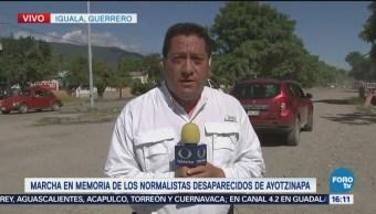 Falla Convocatoria Marcha Normalistas Iguala Guerrero