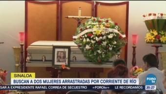 Familiares Amigos Despiden Mujer Murió Ahogada Culiacán