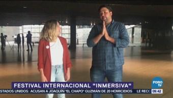 Festival Internacional Inmersiva incluirá realidad virtual
