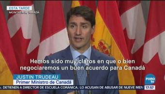 Firmaremos Acuerdo Sea Bueno Canadá Trudeau