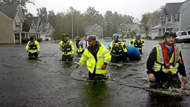 Sube a 15 la cifra de muertos por Florence en Las Carolinas