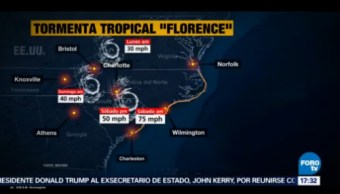 Florence Debilita Tormenta Tropical