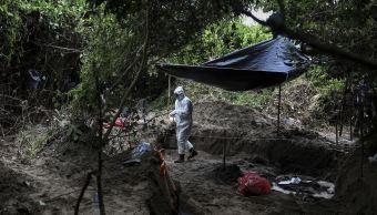 Fosas de Veracruz no hay reporte de hondureños en osamentas