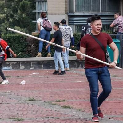 Facultades y prepas de la UNAM van a paro por violencia en C.U.