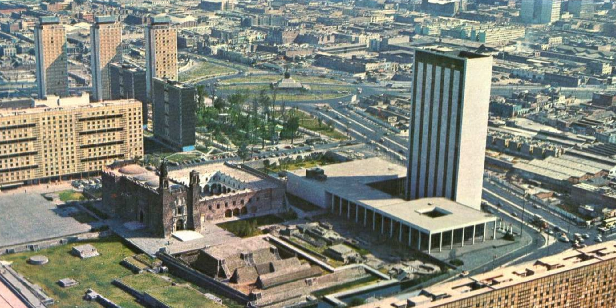 FOTOS  Así era la Ciudad de México en la década de 1960 93a33d9c1b24