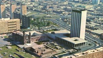 Fotos Antiguas De La Ciudad De México, Ciudad De México En La Década De 1960, Fotos Viejas CDMX, CDMX, Nevada CDMX 1967, Fotos Antiguas De México DF