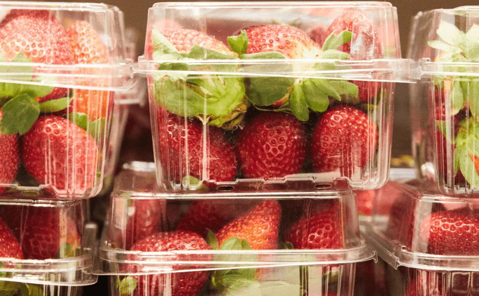 Fresas en supermercado de Australia. (EFE)