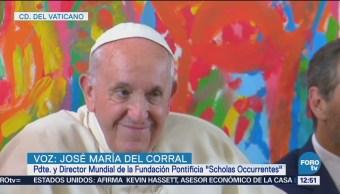 Fundación del papa Francisco colaborará con gobierno de AMLO