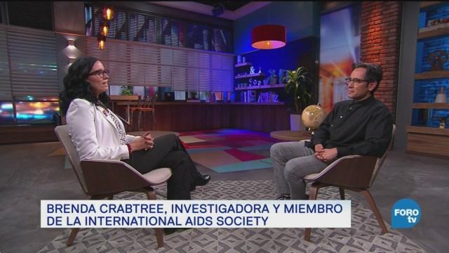Genaro Lozano Entrevista A Brenda Crabtree