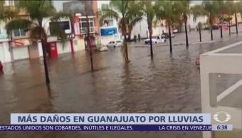 Guanajuato registra las lluvias más intensas desde 1961