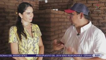 Habitantes de Quintana Roo sacan provecho del sargazo