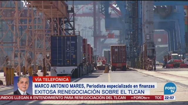 Habrá Reacción Positiva Mercados Tlcan Marco Antonio Mares