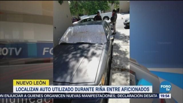 Hallan Auto Usado Agresión Aficionados Monterrey Nl