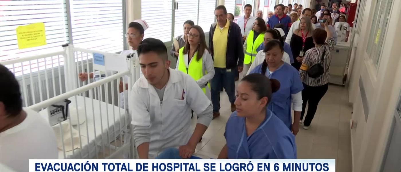 Hospitales Cdmx Participan Macrosimulacro Sismo Septiembre