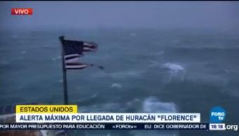 Huracán Florence mantiene potencial destructor