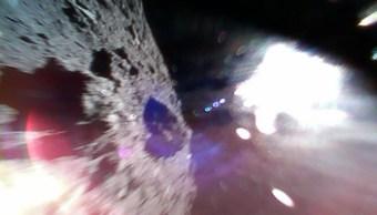Japón hace historia al enviar fotos desde el asteroide Ryugu