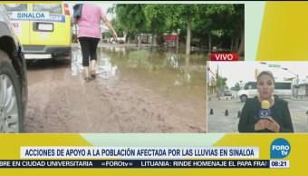 Implementan Comedores Damnificados Lluvias Sinaloa