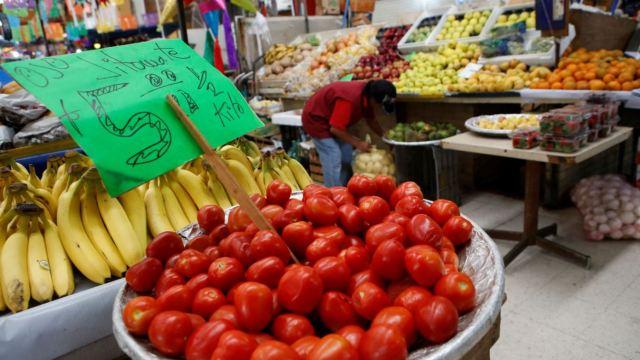 Inflación anual de México sube en agosto: INEGI