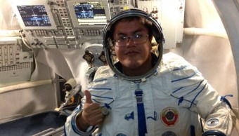 Aarón Garduño Rodríguez IPN Luna Base Rusia