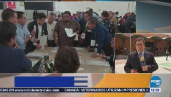 Inicia recuento de votos de la elección en Puebla