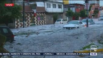 Inundación Inmediaciones Metro Oceanía CDMX Granizada