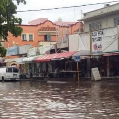 Lluvias e inundaciones afectan viviendas en Sinaloa