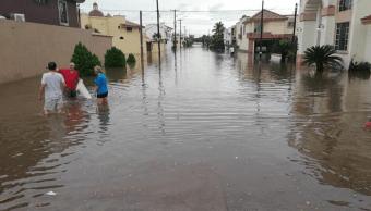 Lluvias intensas afectan Sinaloa, Jalisco, SLP y Querétaro, hay un muerto