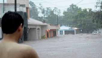 Dos comunidades de Sinaloa están incomunicadas por inundaciones