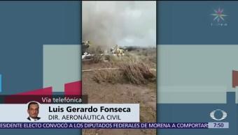 Investigan a piloto no autorizado en avión Aeroméxico accidentado en Durango