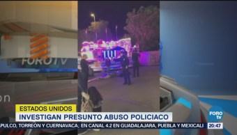 Investigan Abuso Policiaco Feria Estados Unidos