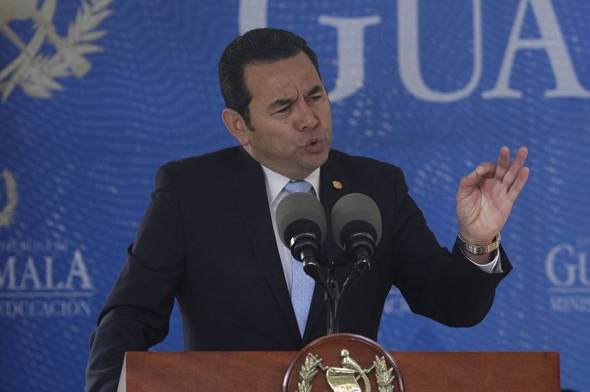 Guatemala niega ruptura constitucional a causa de CICIG