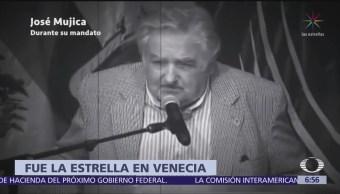 José Mújica, expresidente de Uruguay, estrella del Festival de Venecia