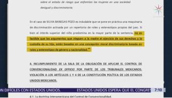 Jueces de México aún dictan sentencian machistas