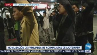 Normalistas Ayotzinapa Marchan Cdmx Manifestaciones Tortuga Desparecidos