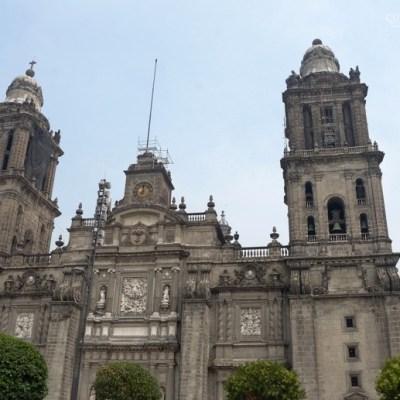 Catedral Metropolitana continúa en rehabilitación tras sismo del 19S