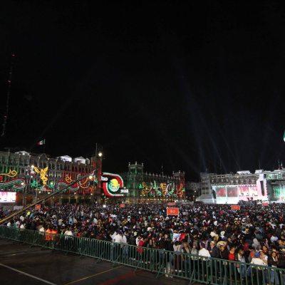 Fotogalería: Así celebró México el grito de Independencia