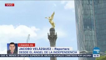 Realizan Cortes Viales Ángel Fiestas Patrias