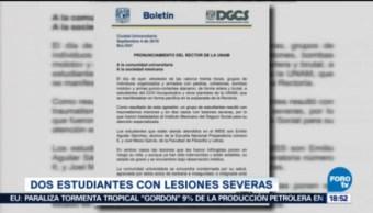 Enrique Graue, Rector De La Unam, Expulsión De 18 Agresores Estudiantes De Cch Azcapotzalco Agrupaciones Porriles