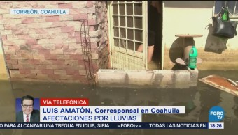 Decenas Miles, Damnificados Lluvias Torreón, Coahuila