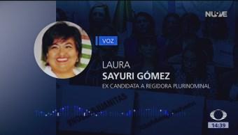 Juanitas Chiapas Insisten Renunciar