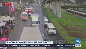 Encharcamientos Zaragoza Complican Circulación