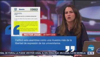Rector De La Unam Enrique Graue Celebra Asamblea Interuniversitaria