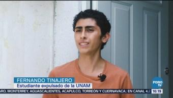 Estudiante De Unam Expulsado Asegura Participó Ataque Cu