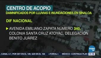 DIF Abre Centro Acopio Sinaloa