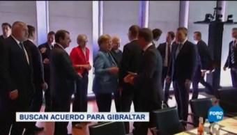 Líderes Europeos Centran Discusión Brexit Unión Europea Reino Unido