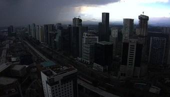 Llueve en al menos nueve delegaciones de la CDMX