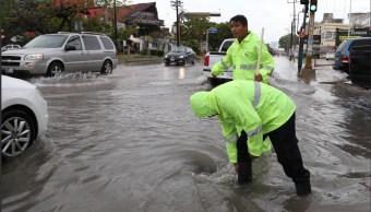 Lluvias en Yucatán y Q. Roo por remanentes de 'Isaac'