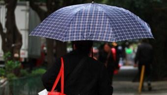 Lluvias hoy en CDMX y tormentas eléctricas prevé el SMN