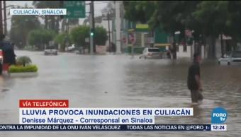 Lluvias por la depresión tropical 19-E deja inundaciones