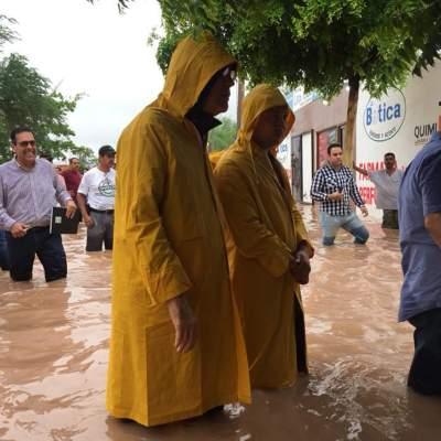 Activan Plan Marina por lluvias en BC, BCS, Sonora y Sinaloa